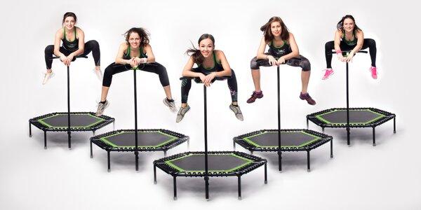 Jumping: fitness lekce na trampolínkách