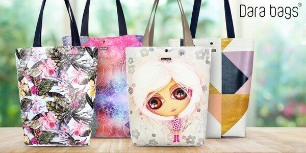 Ručně vyráběné prostorné kabelky Dara Bags
