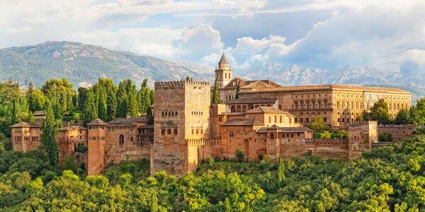 Letecky do Andalusie: poznávací zájezd s polopenzí