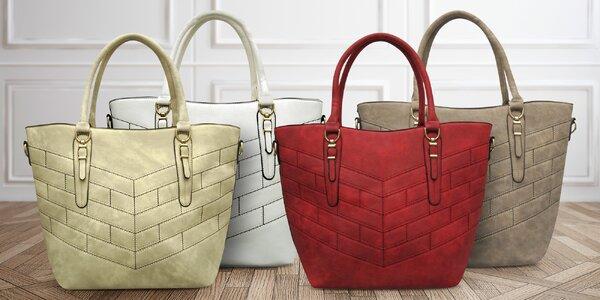 Elegantní prošívané dámské kabelky Giandino