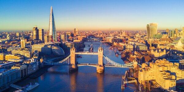Letecky do Londýna: 3 noci, snídaně i průvodce