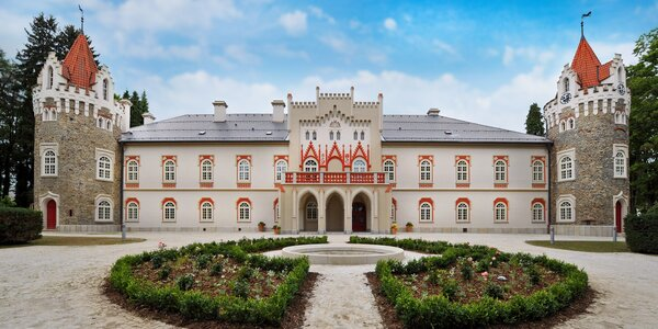 Pohádka v Chateau Herálec se snídaní i wellness