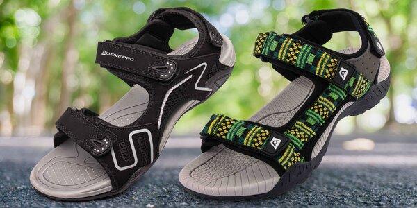 Pánské sandály Alpine Pro s měkkou stélkou