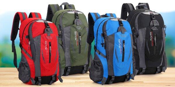 Sportovní batohy o objemu 40 l ve 4 barvách