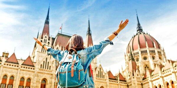 Do Budapešti s batůžkem na 2-3 noci se snídaní