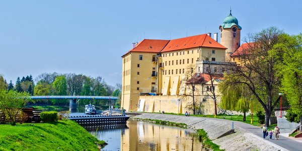 Hezké ubytování s polopenzí v centru Poděbrad