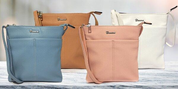Dámské crossbody kabelky z eko kůže v 7 barvách