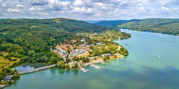 Odpočinek u Brněnské přehrady s polopenzí a masáží