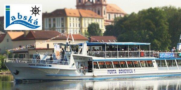 Okružní plavba z Litoměřic lodí Porta Bohemica 1