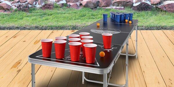 Skvělý doplněk na párty: AGA stůl na beerpong