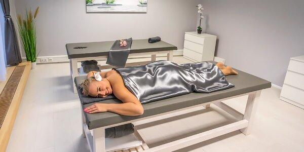 Hubnoucí a lymfatické masáže a oxygenoterapie