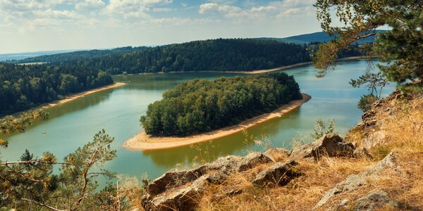 Pobyt v CHKO Železné hory s polopenzí i wellness