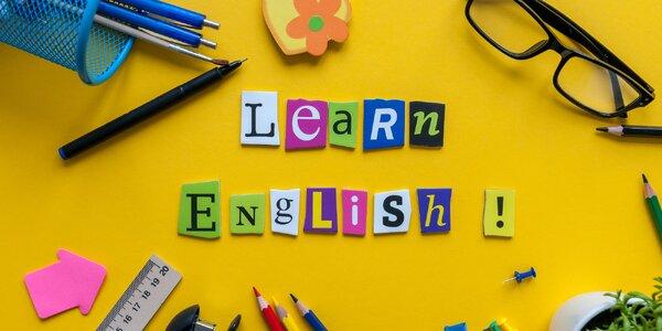 Poukaz na kurz angličtiny v hodnotě 2–5 tisíc Kč