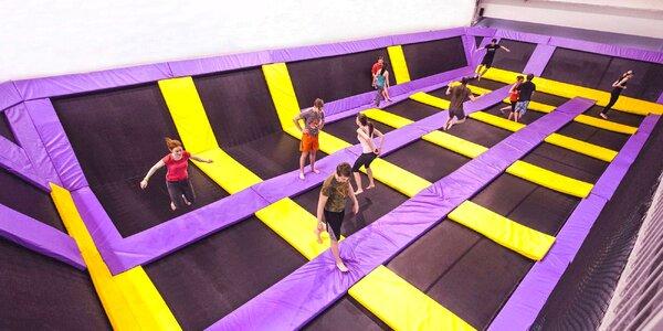 Hodina skákání na trampolínách v JumpParku Jarov