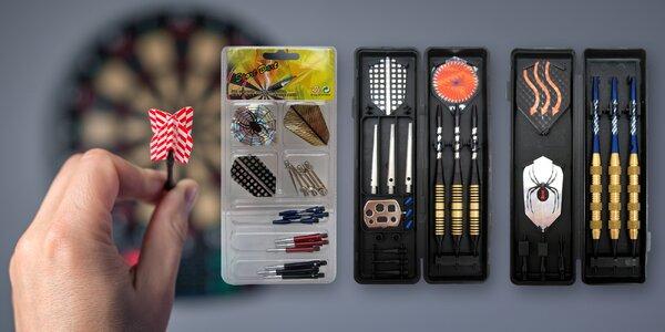 Značkové šipky Sport Darts a náhradní díly