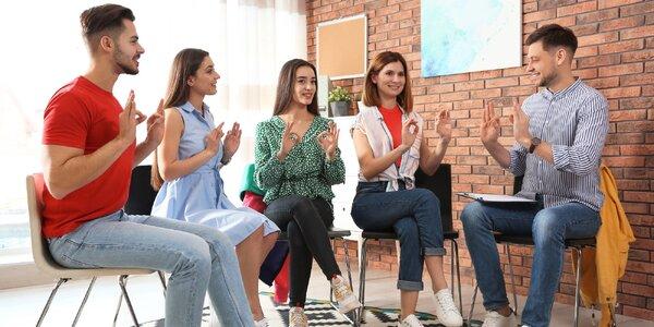 Letní intenzivní kurz znakového jazyka