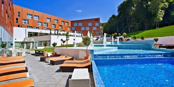 4* hotel v Chorvatsku s bazény a aquaparkem