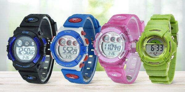 Multifunkční a odolné digitální hodinky pro děti