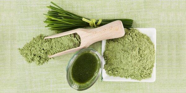 Přísun vitamínů a minerálů: mladý ječmen v prášku
