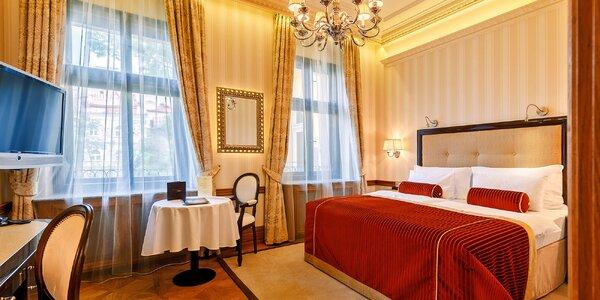 Exkluzivní pobyt ve Varech: degustační večeře a spa