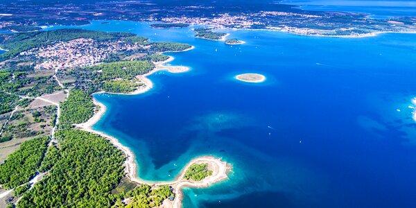 Jednodenní koupání v letovisku Premantura na Istrii