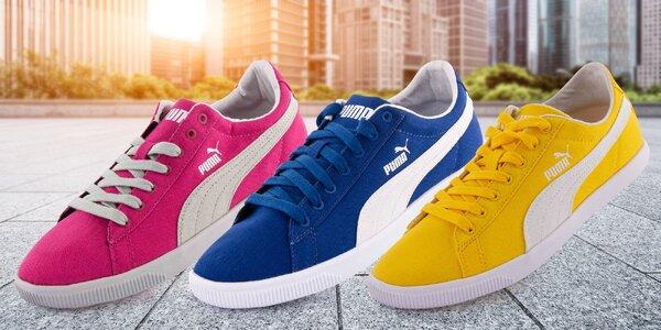Sportovní plátěné tenisky Puma ve 3 barvách
