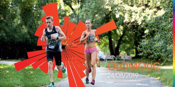 RunTour 2019: startovné na srpnový běh v Olomouci