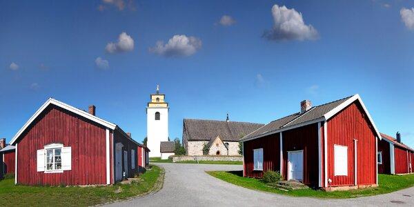 Dovolená ve Švédsku: srub s jízdními koly i loďkou