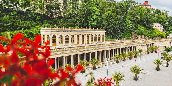 Karlovy Vary: snídaně či polopenze a třeba i wellness