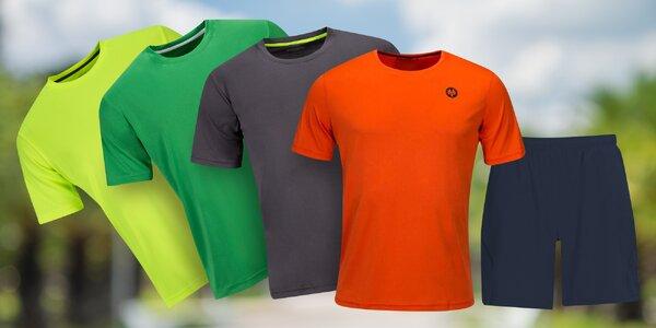 Dětská funkční trička, šortky i soupravy