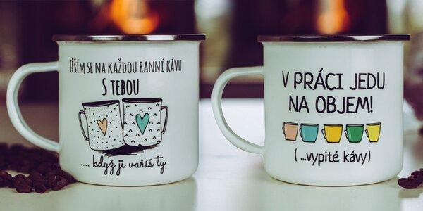 Kolekce plecháčků na kávu i kakao ve 13 motivech