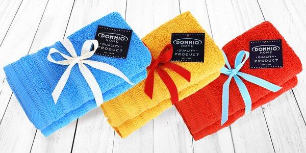 Měkoučké froté ručníky a osušky z bavlny