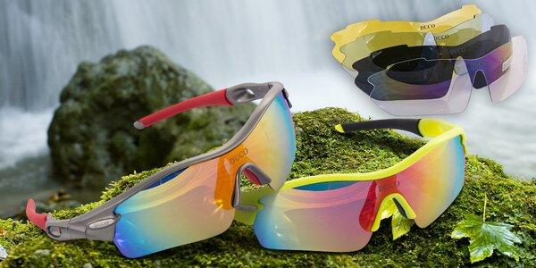 Polarizační brýle Duco s 5 vyměnitelnými skly