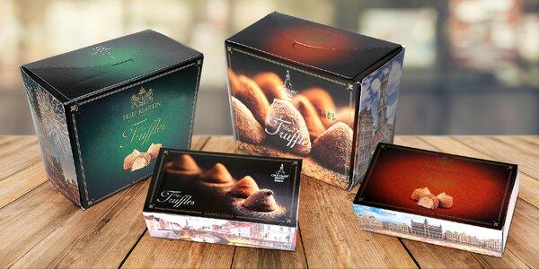 Lahodné čokoládové truffles z Belgie: 3 druhy