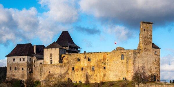 Odpočinkový pobyt s wellness pod hradem Lipnice