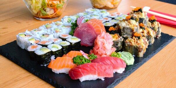 24, 32, 40 či 48 ks sushi: tuňák, losos i krevety