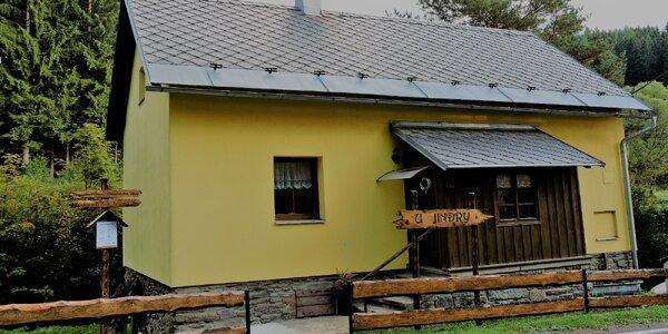 Chata pro partu přátel nebo rodinu v Jeseníkách