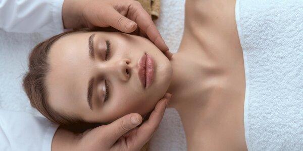 1–3 omlazující ošetření s masáží obličeje a rukou