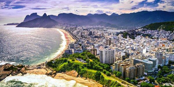 Záloha na zájezd do Ria de Janeira s programem