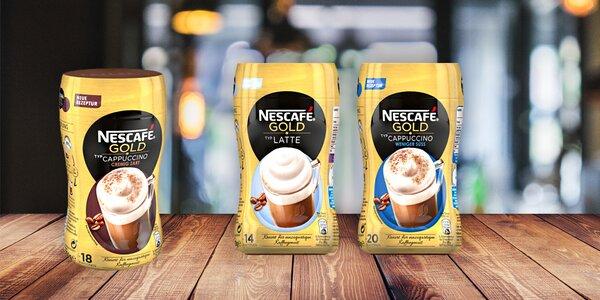 Lahodné instantní kávy Nescafé Gold