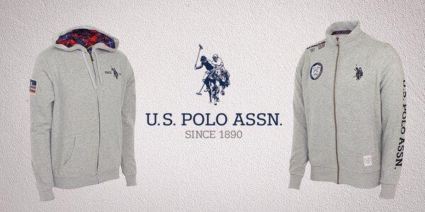 Pánská stylová mikina značky U.S. Polo Assn