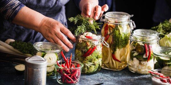 Online kurz přípravy kvašené zeleniny