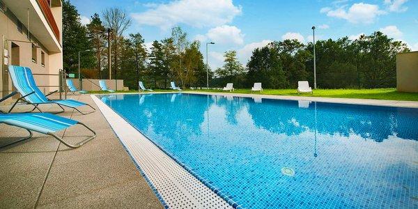 4* pobyt blízko Seče: polopenze, wellness i bazén