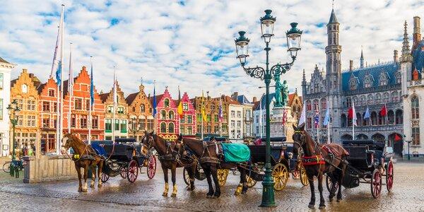 Bruggy se zastávkou v Bruselu s průvodcem