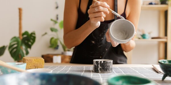 Workshop Keramiky v Café Chloé pro 1 nebo 2 osoby