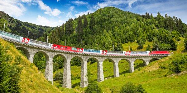 Cesta jedinečným alpským vlakem: letní termíny