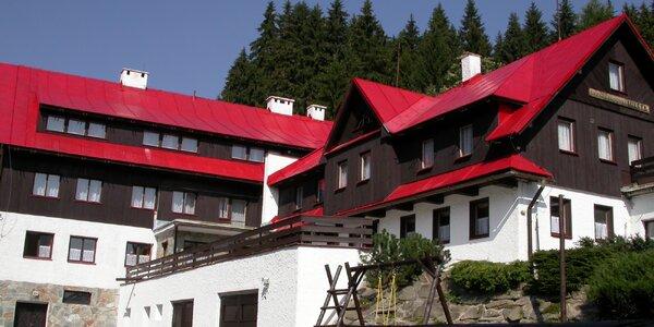 Jaro nebo léto v Krkonoších: ubytování s polopenzí