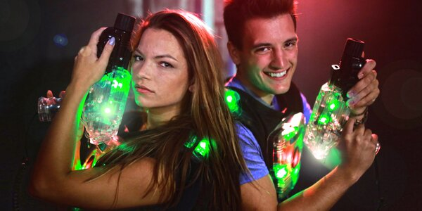 Laser game až pro 10 os. v největší aréně v ČR
