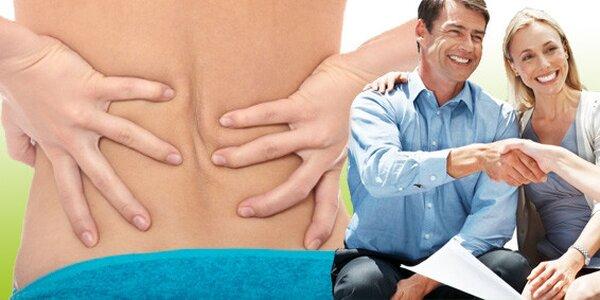Dvě individuální cvičení pro odstranění bolesti páteře!
