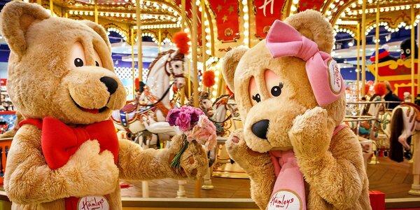 30% sleva na atrakce i zboží v Hamleys